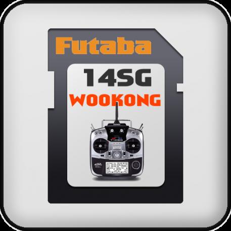 DJI Wookong-M settings for Futaba 14SG