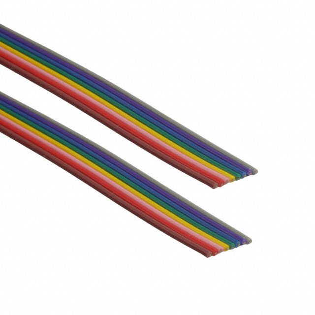 8 Conductor 28AWG Flat Ribbon Cable 12\