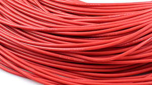 """16AWG Silicon Wire Red (1Meter/39.3"""")"""