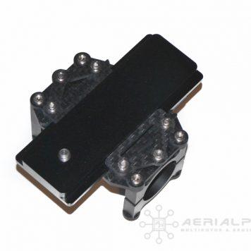 Carbon Fiber adjustable camera tray for DSLR and larger cameras