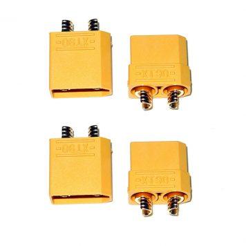 XT90 Connectors Male/Female - 2 Pairs