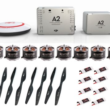Octocopter – X8 Heavy Lift Multirotor Electornics & Props Kit