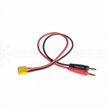 XT60 Charge Lead with 4mm Banana Plugs