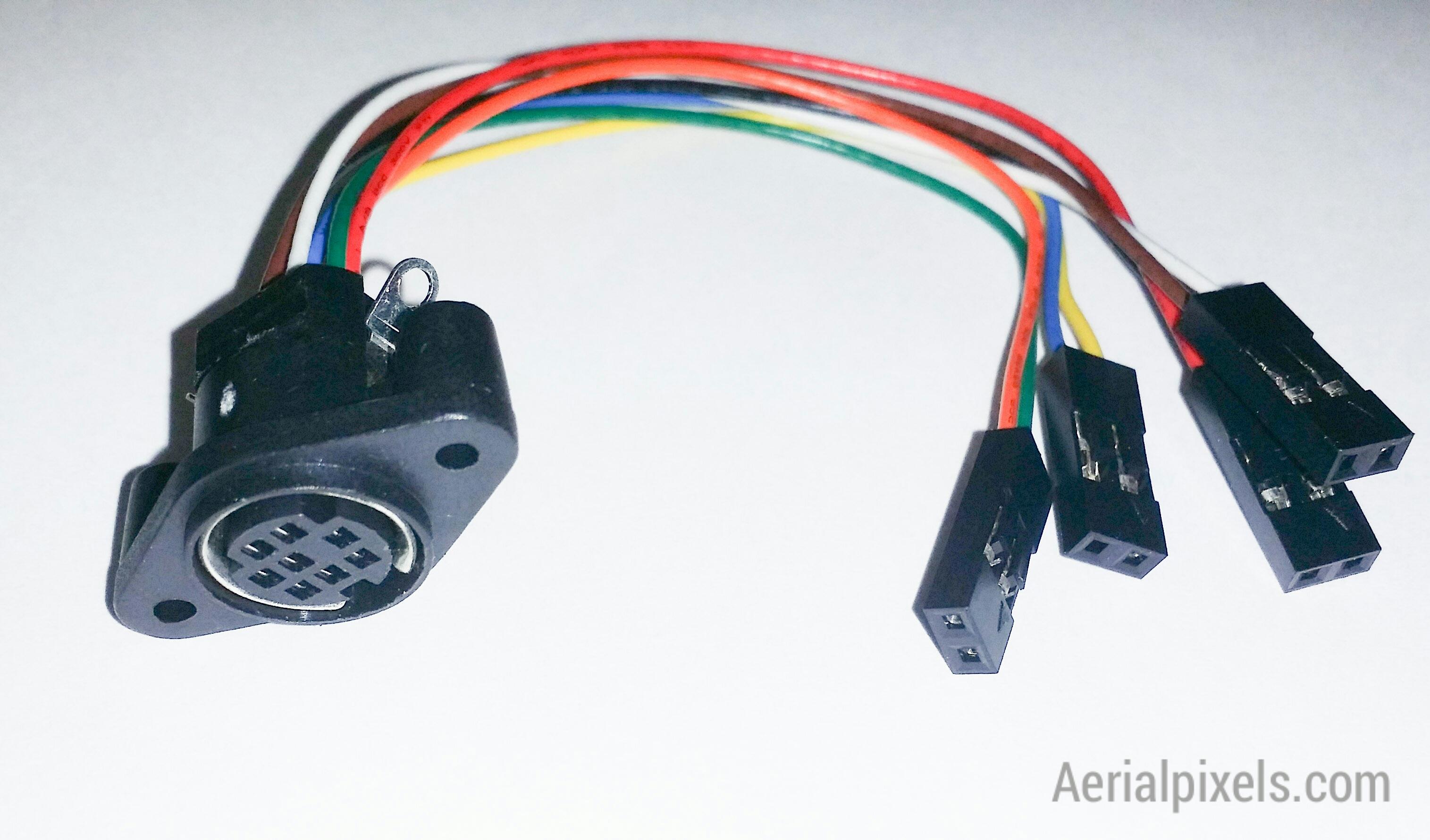 8 pin mini din plug pinout choice image