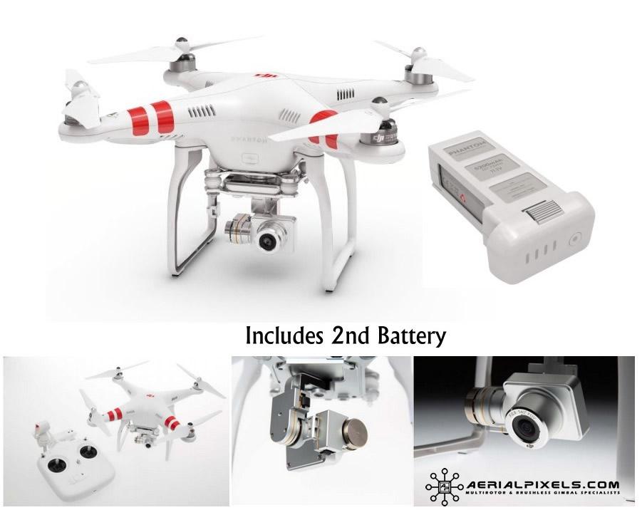 Dji Phantom 2 >> Dji Phantom 2 Vision Quadcopter Fpv Hd Video Camera 3 Axis Gimbal W Extra Battery