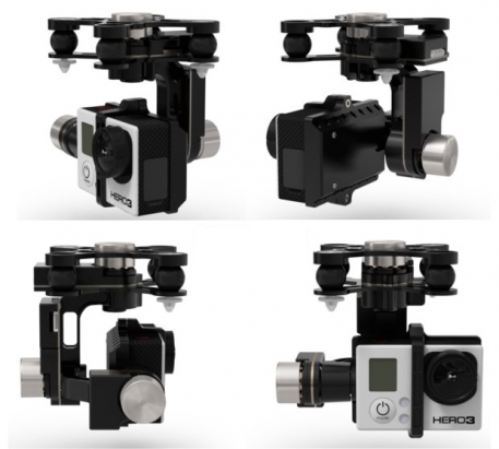 DJI Zenmuse H3-3D 3-Axis Gimbal System with GCU New Version 1.1 w/ Lightbridge Support