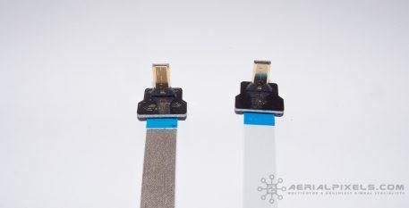 "Hyper Thin HDMI Micro to HDMI Micro Flat Ribbon Cable - 15.7"" 40CM"