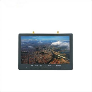 """7"""" LCD FPV Monitor with Built-in 5.8GHz 32CH FPV Diversity Receiver and Battery"""