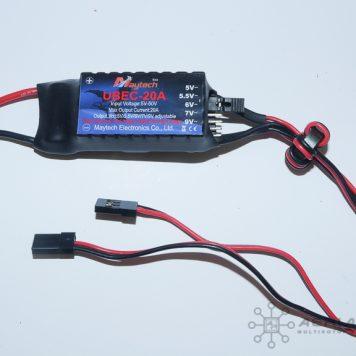 High Voltage Adjustable UBEC - 20A
