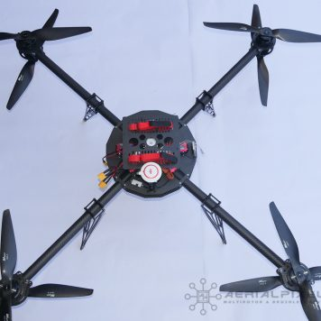 Fx8 Pro Grade X8 Multirotor Frame for Heavy Lift and Endurance