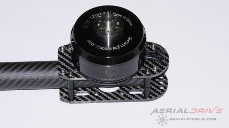 AerialDrive M540 Carbon Fiber Motor Mount