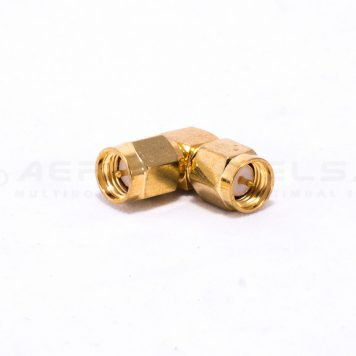 SMA Male to SMA Male 90 Degree Elbow Adapter