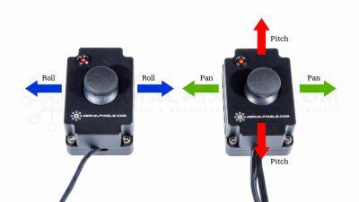 DJI Ronin Proportional Dual Thumb Joystick - Thumb Stick 3 Axis