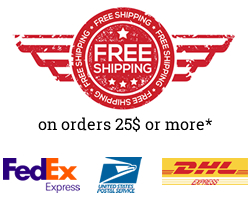 Shipping is free Site-Wide for US orders over $25