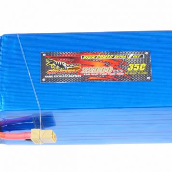 Dinogy Lipo 22000mAh 6S 35C