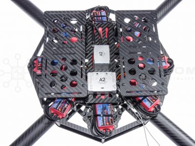 X8 QFx8Pro Eliteuad Multirotor Frame - Dual Battery Trays