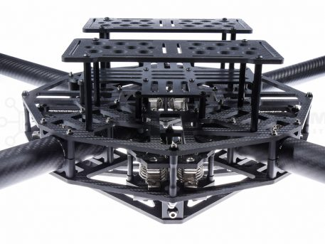 Fx8Pro Elite - X8 Quad Multirotor Frame for Heavy Lift and Endurance