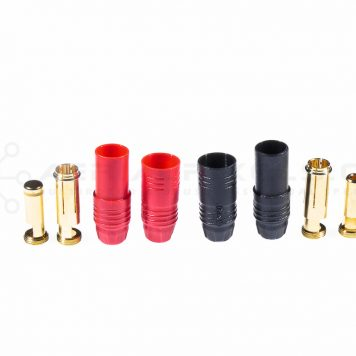 AS150 - 7 MM Anti Spark Gold Bullet Connector Pair
