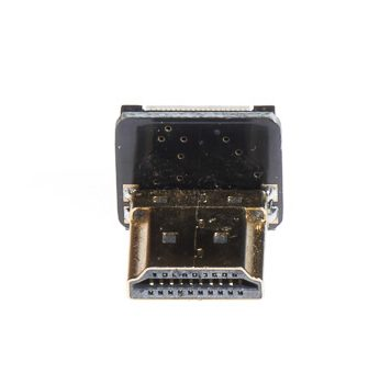 HDMI Standard (Type A) Male Right Angle Connector