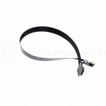 "Ultra Thin HDMI Cable Mini Female to HDMI Mini Female Flat Ribbon Cable - 30CM (11.8"")"
