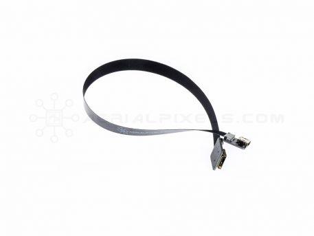 "Ultra Thin HDMI Cable Mini Female to HDMI Mini Female Flat Ribbon Cable - 30CM (11.8"")"