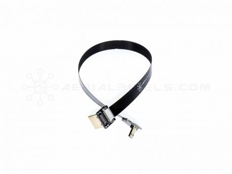 """Ultra Thin HDMI Cable Micro to HDMI Standard Right Angle Flat Ribbon Cable - 30CM (11.8"""")"""