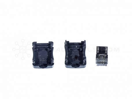 Micro USB Male DIY Connector - Micro B Male