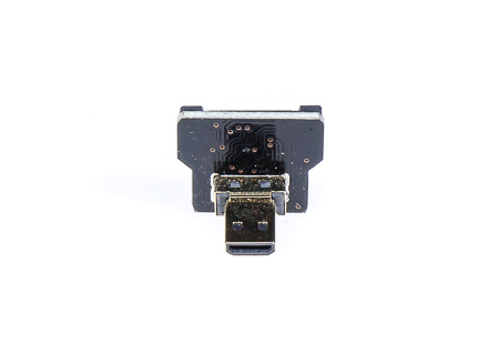 HDMI Micro (Type D) Male Right Angle Reversed Connector