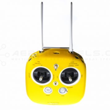 Protective Neoprene Cover for DJI Inspire 1 Transmitter - Yellow