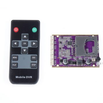 Mini DVR with IR Control for On-Board Drone Applications - Full D1
