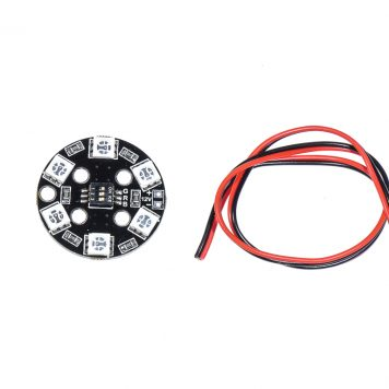 RGB 12V LED 3CM Circle for FPV Racing Drones - RGB5050 LED