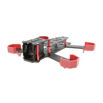 Nighthawk 200 All Carbon Fiber Quadcopter Aircraft Frame (4mm)