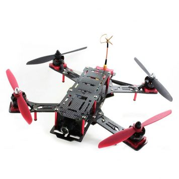 Nighthawk Pro 280 Size Carbon Fiber And Glass Fiber Mixed Quadcopter Frame-ARF