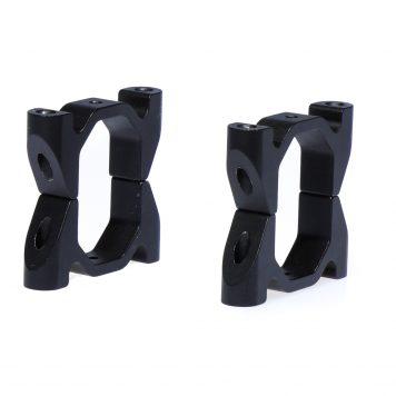 Octagonal Boom Clamps Aluminum CNC