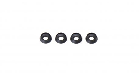 M3 x 8 x 2.5MM Countersink Washers for Button Head Screws - Black (4pcs)