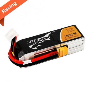 Tattu 1800mAh 14.8V 75C 4S1P Lipo Battery Pack FPV Racing