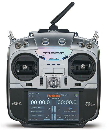 Futaba 18SZ FASSTest, FASST, T-FHSS, S-FHSS Radio System - Heli