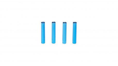 M3 x 28MM Aluminum Round Standoff - Blue (4pcs)