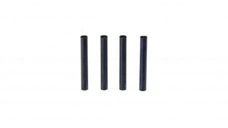 M3 x 38MM Aluminum Round Standoff - Black (4pcs)