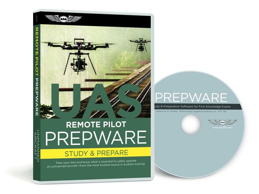 prepware: remote pilot dvd study guide - faa part 107 - aerialpixels