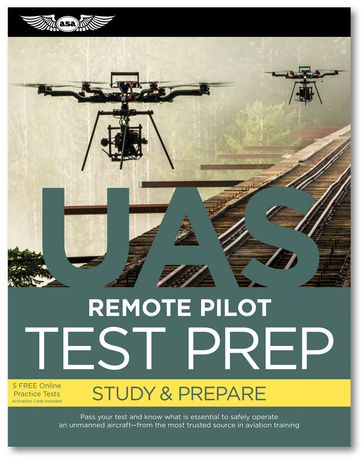 prepware: remote pilot study guide book – faa part 107 - aerialpixels