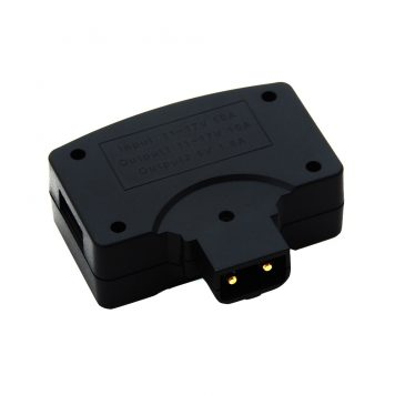 DTAP to 5V USB Adapter with DTAP Female Pass-thru