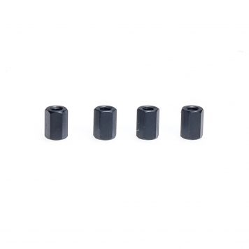 M3 x 8MM Standoff - Aluminum Hex Standoff Black (4 pcs)