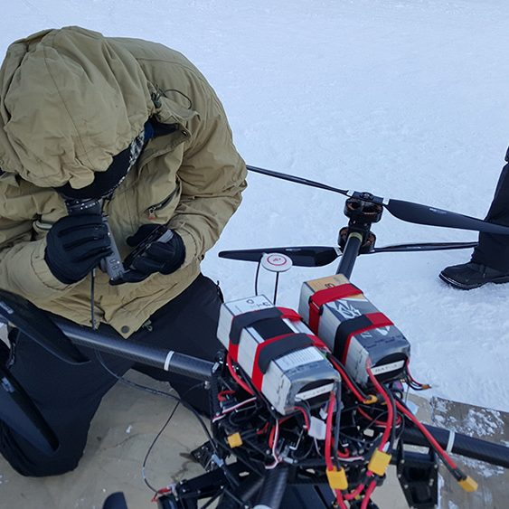 On-site Drone and Brushless Gimbal Technical Support
