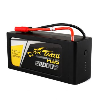 Tattu Plus, a smart battery specially designed for UAV. Protective casing give these batteries extra safety during the flight. Power lead is also longer then normal tattu batteries. Indication LED lights of the batteries can let you know how full of the capacity the batteries have when charging. Warning lights to give you indications of the tempreture, over/under charge, and cells banlence healthy leavel. These 6S lipo batteries will also go into a intelegent storage mode when you are fully charge the btteries and decided to store away. The batteries itself will discharge in the storage mode to keep the votage in a certain level for storage. The amazing battery management system(BMS) will smartly manage your battery and extend your battery life. This BMS is a trend of Lipo batteries, it's the new generation of UAV batteries.