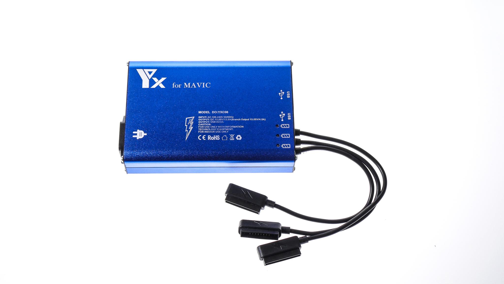 DJI Mavic Pro 5 In 1 Rapid Battery Charger Charging Hub