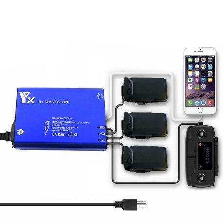 5 in 1 Multi Battery Intelligent Charging Hub for DJI Mavic Air